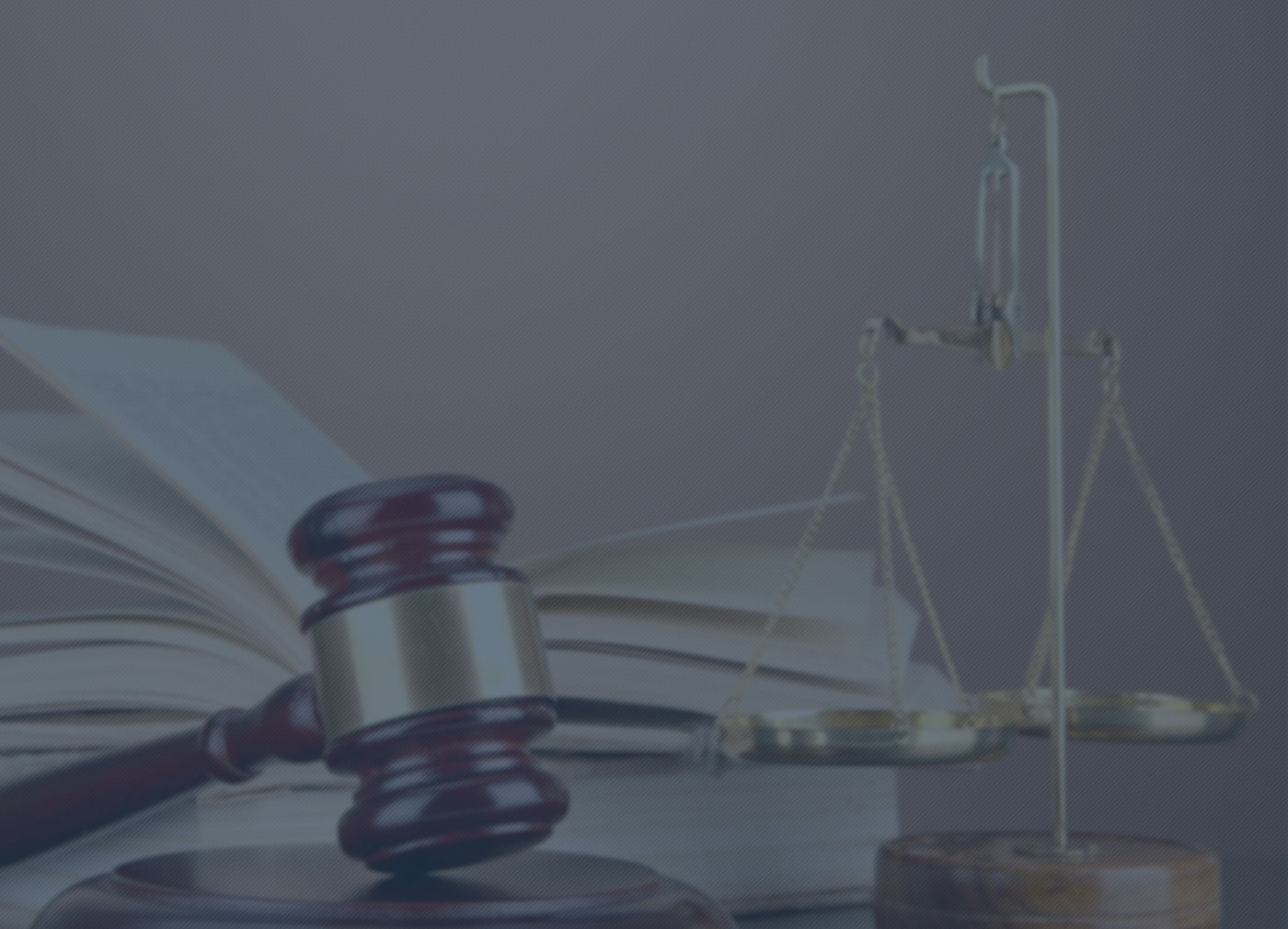 Background Image of Gavel & Scales of Justice
